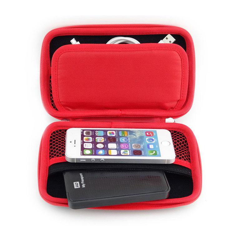 2d91dfc50a84 GUANHE Universal Electronics Accessories Case   USB Drive Shuttle   Cable  Organizer Bag