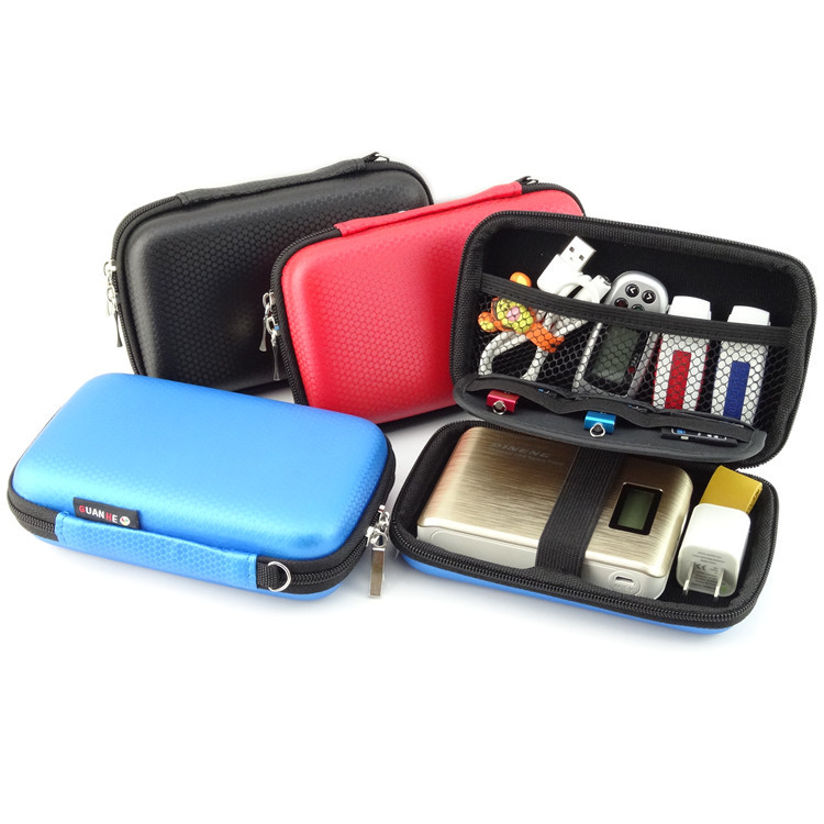 GUANHE Portable Hard Drive Case for External Hard Drive ...